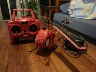 helicoptero rc spiderman