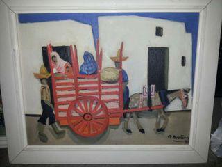 pintura carro ibicenco