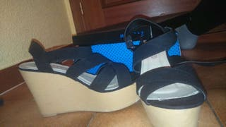 Zapatos de cuña de marypaz