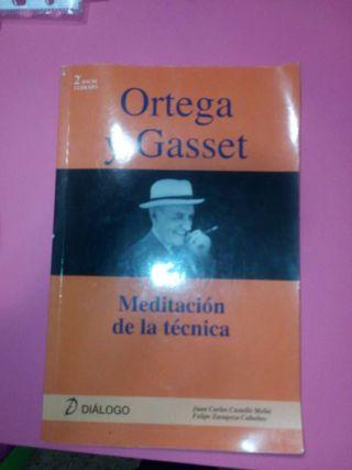 Libro Ortega y Gasset. Filosofia 2°bach