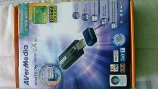 TDT SINTONIZADOR USB AVERMEDIA DIGI VOLAR EX..