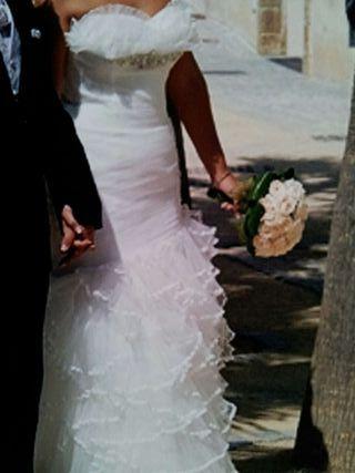 vestido de novia de segunda mano en la provincia de cádiz en wallapop