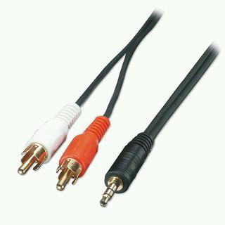Cables de audio de MiniJack a RCA estéreo