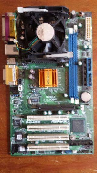 Placa Base +procesador AMD ATHLON