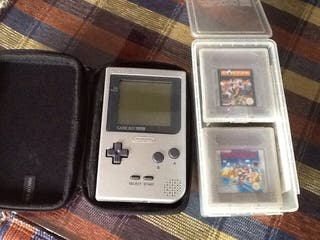 Gameboy Pocket + 7 Juegos