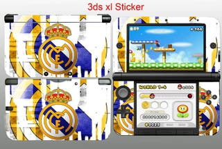 Nintendo 3ds XL Vinilos Real Madrid C.F.