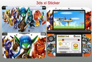 Nintendo 3ds XL Vinilos Skylanders