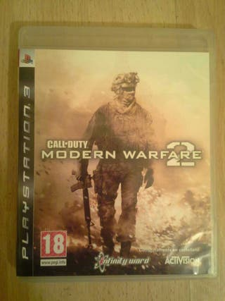 Call duty moder warfare 2 ps3