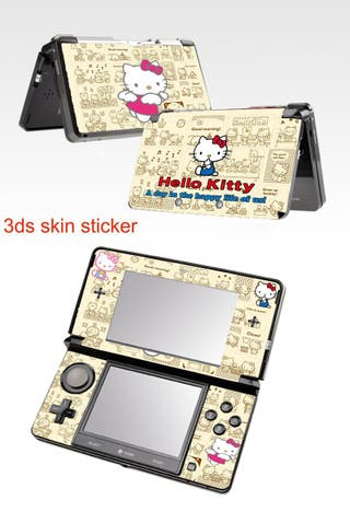 Nintendo 3ds Vinilos Hello Kitty