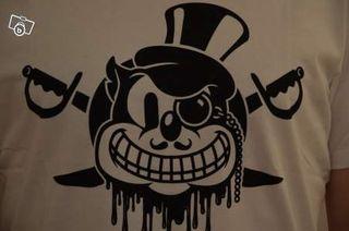 T-shirt Imprimé Souris Pirate Neuf