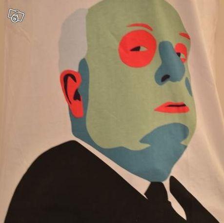 T-Shirt Imprimé Hitchcock Neuf