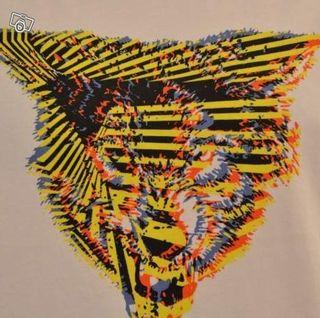 T-Shirt Imprimé Loup