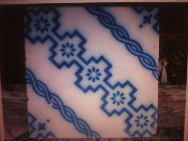 Baldosas azulejos. 1 unidad