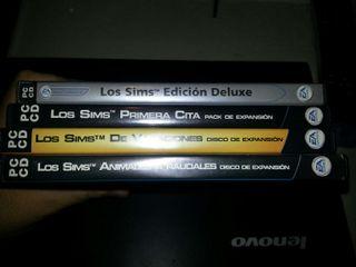 Colección juego los Sims para PC