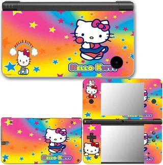 Nintendo Dsi XL Vinilos Hello Kitty