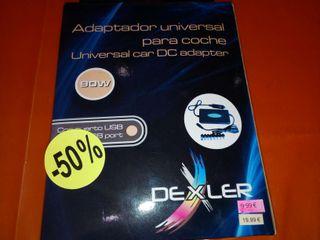 Cargador universal 90w portátil sólo coche