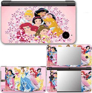 Nintendo Dsi XL Vinilos Princesas