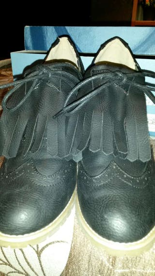 Zapatos tacon negros casi nuevos t 40