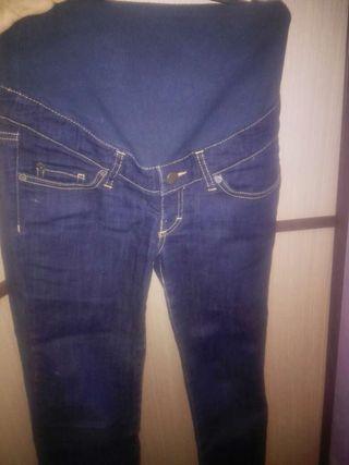 Pantalones vaqueros de premama