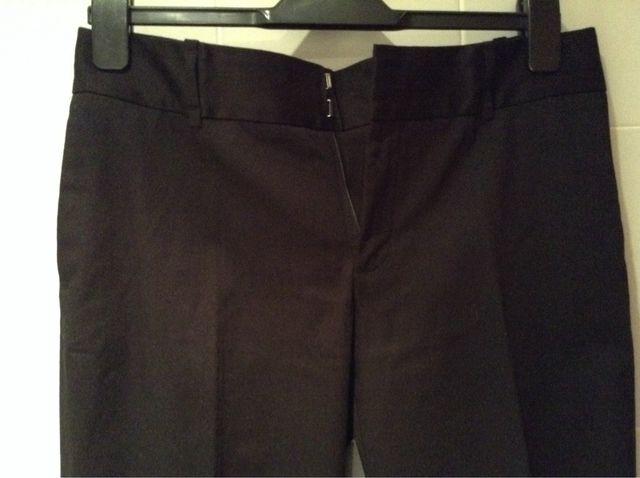 Pantalón Chica Negro Tipo Traje De ZARA. Talla 40. Nuevo A Estrenar.