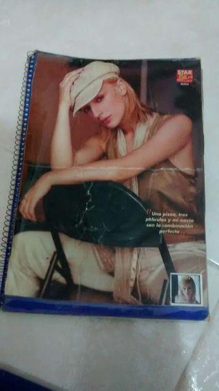 Cuaderno prensa Mara Barros popstars todo por un sueño