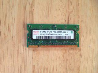 Modulo Memoria SO-Dimm Hynix 512Mb PC2-4200S