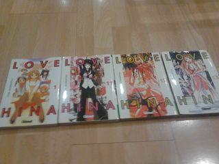 Love Hina. Manga