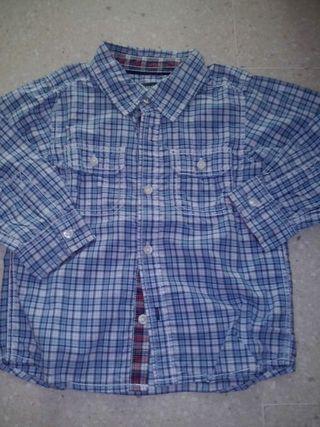 Camisa H&M talla 80 cm