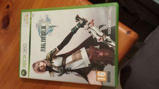 Final fantasy 13 para xbox 360 nuevo