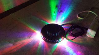 Luz discoteca