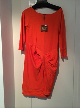 Vestido Marca Rosa Palo