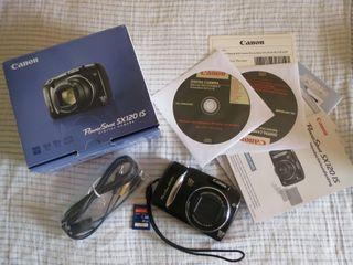Cámara Canon Powershoot SX 120 IS