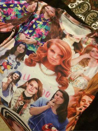 Camiseta Lana del Rey! Talla M