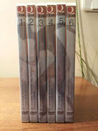 Enciclopedia en DVD el cuerpo humano del futuro