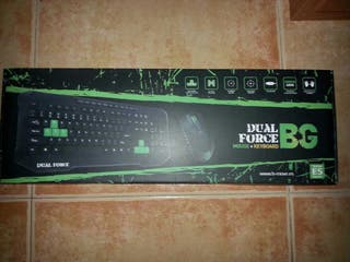 Teclado Gaming DUAL FORCE BG