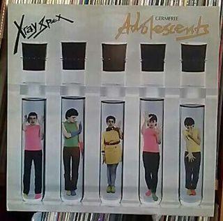 "LP DISCO VINILO X-RAY XPEX ""GERMFREE ADOLESCENTS"" PUNK ROCK"