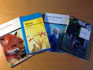 Cuatro Libros Primaria Y Secundaria