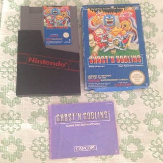 Ghost'n Goblons Nes Completo