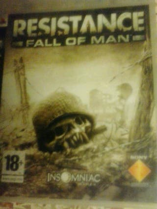 PS3 juego Resistance play station 3