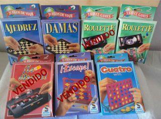 Juegos de viaje desde 2€