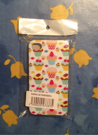 Funda Iphone 4/4S Cupcake