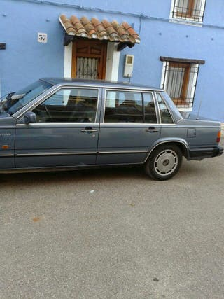Volvo 760, turbo intercoler diesel, 1987, clásico