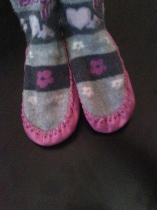 Zapatos con calcetin