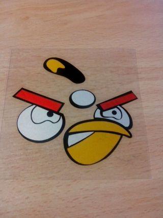 Pegatina Angry Birds