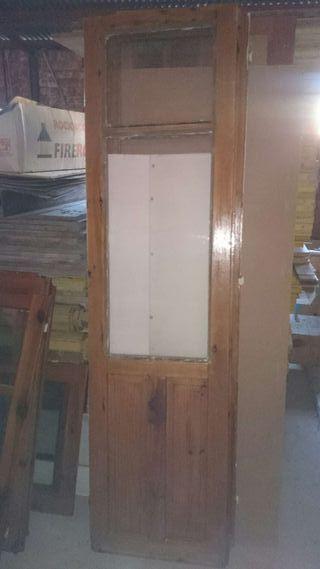 Hojas de balcón o galeria madera