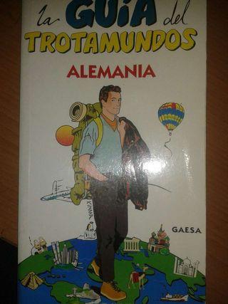 """Libro: """"LA GUIA DEL TROTAMUNDOS. ALEMANIA""""."""