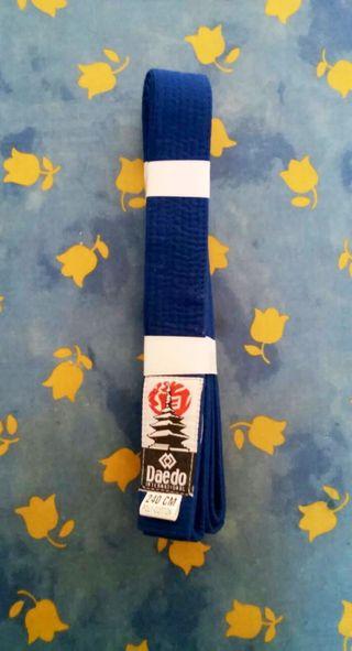 Cinturón Azul Artes Marciales