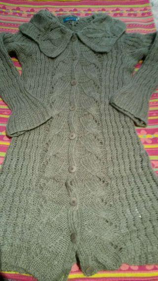Abrigo de lana color camel t 42