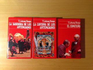 Lote 3 Libros De T. Lobsang Rampa
