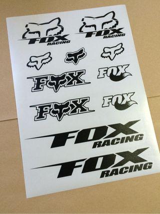 Pegatinas Fox Racing